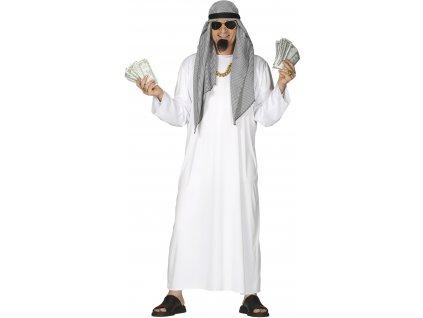 Pánsky kostým - Arabský šejk (Velikost - dospělý L)