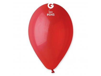 Balónek pastelový červený 26 cm