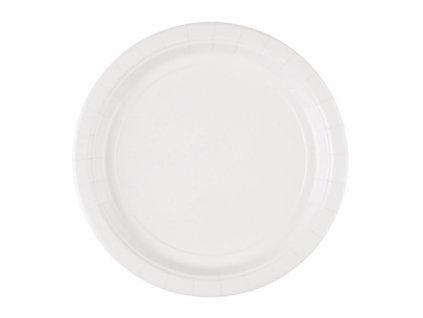 Talíře bílé 8 ks