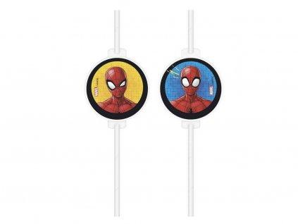 Brčka s motivem Spiderman 4 ks