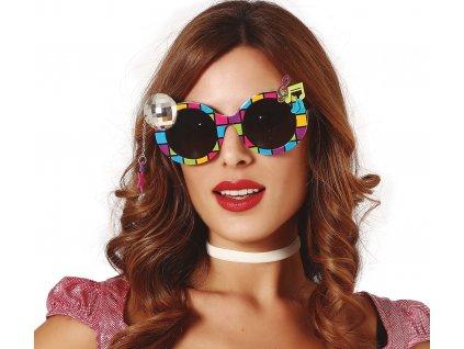 Brýle diskokoule