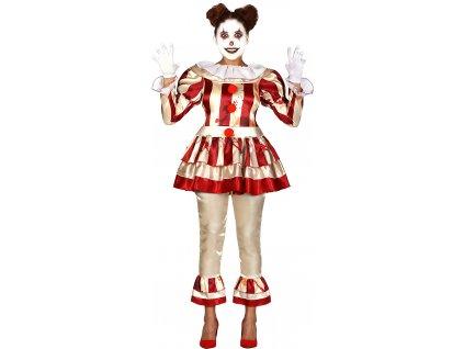 Dámský kostým - Hororový Klaun žena