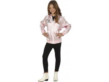 Dětská růžová bunda - Pink girls