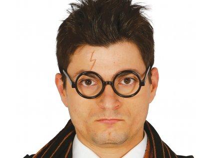 Kulaté brýle bez sklíček Harryho Pottera