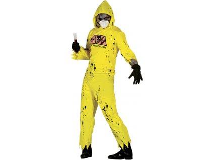 Pánský kostým - Biochemický oblek Zombie