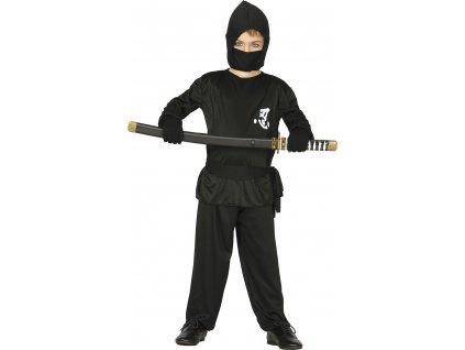 Kostým Ninja - detský (Veľkosti 10-12 rokov (výška 142-148cm))