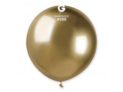 Balónek chromový zlatý 48 cm