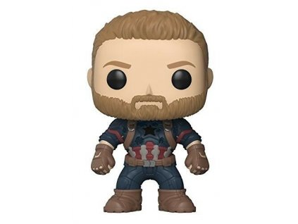 Funko POP figurka Bobble Marvel Avengers Infinity War - Captain America