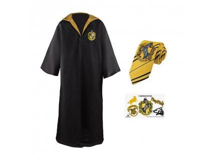 Sada plášť, kravata a 5 tetování Harry Potter - Mrzimor