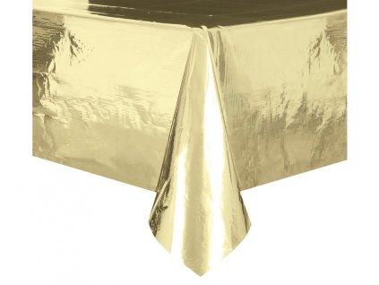 Fóliový ubrus - zlatý