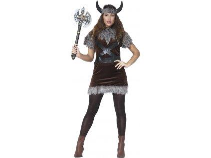 Kostým Vikingská žena (Veľkosti M)