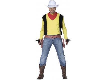 Kostým kovboja Laky Luke (Velikost - dospělý L)