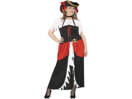 Kostým Pirátka (Veľkosti L)