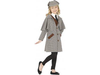 Detský kostým - Sherlock Homes (Velikost - děti M)