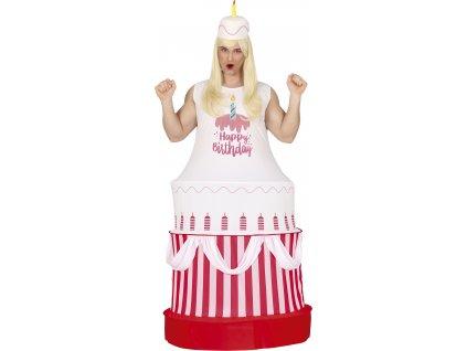 Kostým Torta (Velikost - dospělý L)