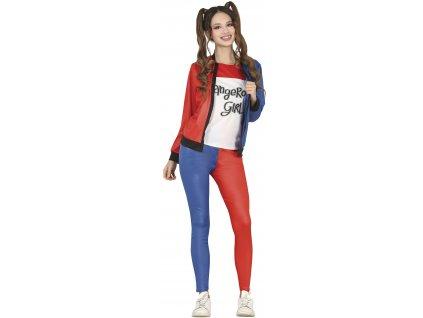 Detský kostým - Harley Quinn teeneger (Velikost - děti 14 - 16 let)