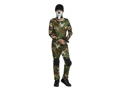 Detský kostým - Vojak (Velikost - děti 14 - 16 let)