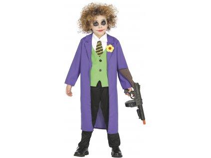 Detský kostým - Joker (Velikost - děti M)