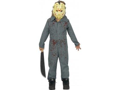 Detský kostým - Jason (Velikost - děti M)