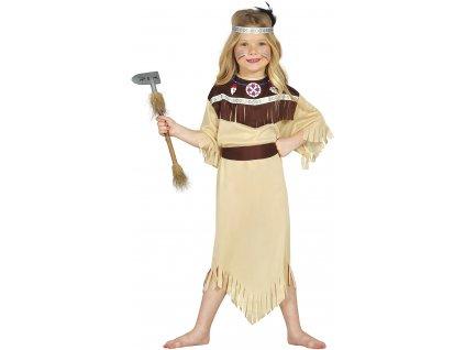 Kostým Indiánka Cherokee