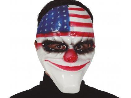 Americká maska Klauna