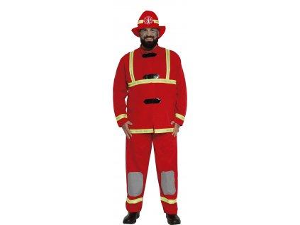 Kostým hasiča (Velikost - dospělý L)