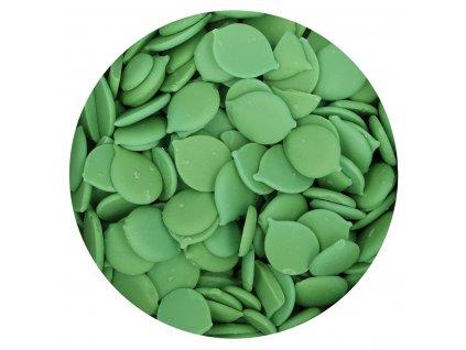 zelená čokoládová poleva