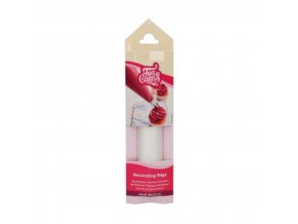 Jednorázové cukrářské zdobící sáčky protiskluzové 30 cm - 10ks