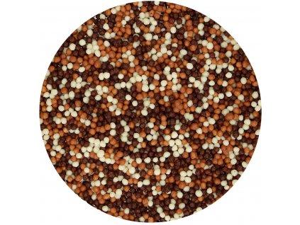 čokoládové guličky mix
