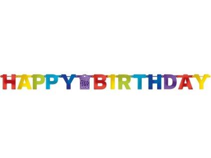 53576 banner happy birthday 213 cm