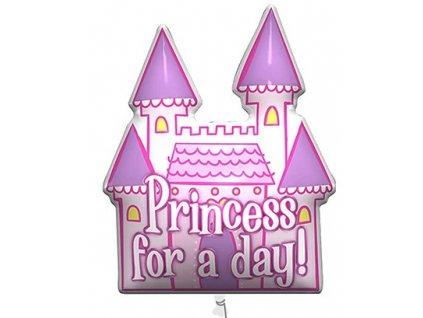 Fóliový balón - Princess for a day! 94 cm