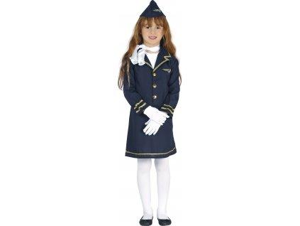 Dětský kostým - letuška