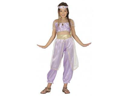 Detsky kostym pustna princezna