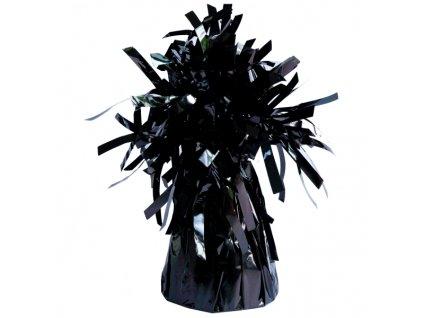 Fóliové závaží na balónky černé