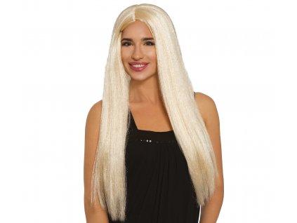 Paruka blond dlouhá