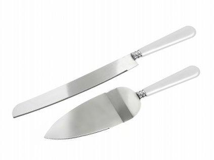 Nůž a lopatka na dort
