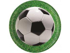 Talíře Fotbalový míč 8 ks