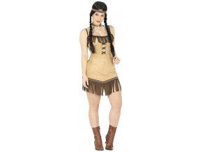 Damsky kostým Indianka Miwok