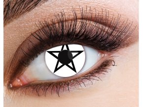 eyecasions one day halloween contact lenses pentagram 1 pair p23477 94499 image