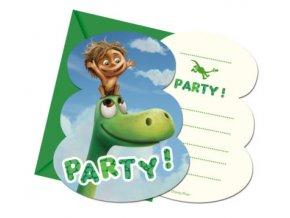 Pozvánky Hodný dinosaurus
