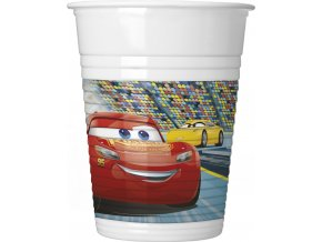 CARS 3 PLASTIC CUP ICON