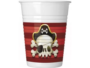 POWERFUL PIRATES PLASTIC CUP ICON