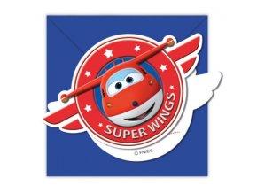 Pozvánky Super Wings