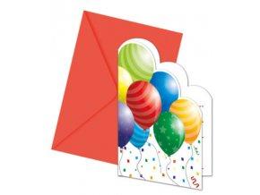 Pozvánky Balónová oslava