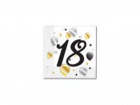 Ubrousky Milestone s číslem 18