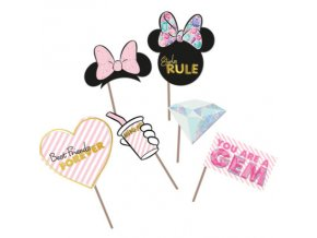 MINNIE PARTY GEM PHOTO PROPS