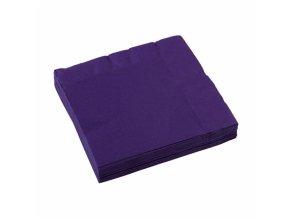 Ubrousky fialové 20 ks