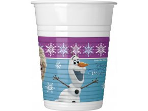 FROZEN NORTHERN LIGHTS PLASTIC CUP ICON