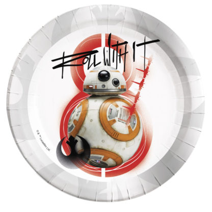 Procos Talíře BB8 (Star wars) 8 ks