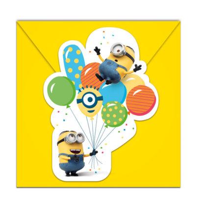 Procos Pozvánky Mimoni párty 6 ks 8728ed4b31